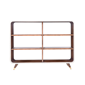 Canvas Legged Open Bookcase - Furniture