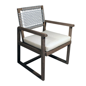 Alfresco Outdoor Rope Weave Dining Chair - Furniture