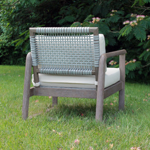 Alfresco Outdoor Rope Weave Lounge Chair - Furniture
