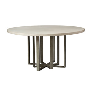 Creme Round Dining Table -