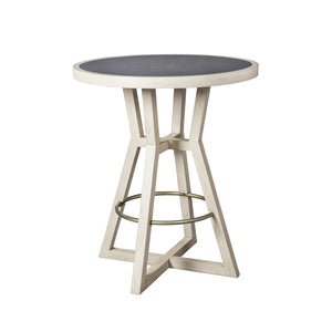 Creme Café Bar Table -