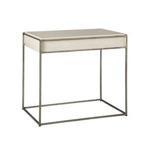 Creme Side Table -