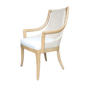 Paragon Arm Chair in Driftwood Finish - Furniture