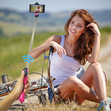Selfie- Stick Tripod with Bluetooth Remote Extended Wireless Selfie Stick