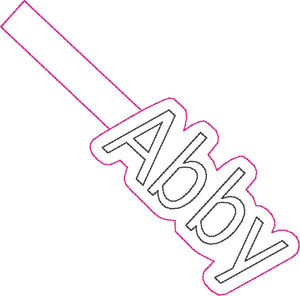 ITH Abby Fob HL2536 embroidery file