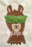 Applique Llama HL2207 embroidery file