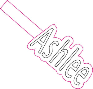 ITH Ashlee Fob HL2531 embroidery file