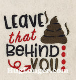 Behind You TP HL2191 Toilet Paper embroidery file