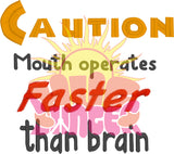 HL Caution Mouth HL5699