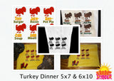Turkey Dinner HL5762 embroidery file