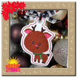 HL ITH Reindeer Single Ornament HL5650