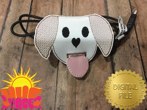 ITH Dog Cord Wrap HL5770 embroidery file