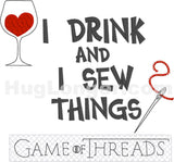 Drink and Sew