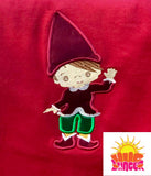 Appliqué Elf HL7331 embroidery file