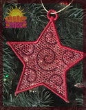FSL Star Ornament HL5744 embroidery file