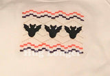 Faux Smocked Bats HL5685 embroidery files