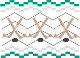 Faux Smocked Hockey Sticks HL5693 embroidery files