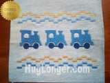 Faux Smocked Trains HL2494 embroidery files