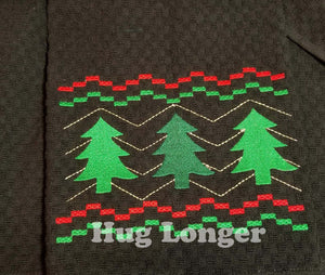 Faux Smocked Christmas Trees HL5687 embroidery files