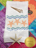Faux Smocked Starfish HL2489 embroidery files