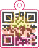 ITH QR Oh Shit Fob HL5783 embroidery file