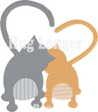 Heart Tail Cats HL5699 embroidery files