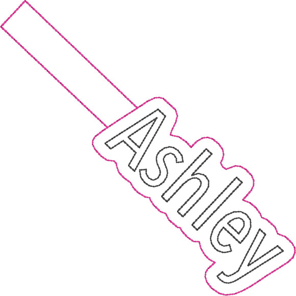 ITH Ashley Fob HL2267 embroidery file