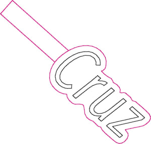 ITH Cruz Fob HL2334 embroidery file