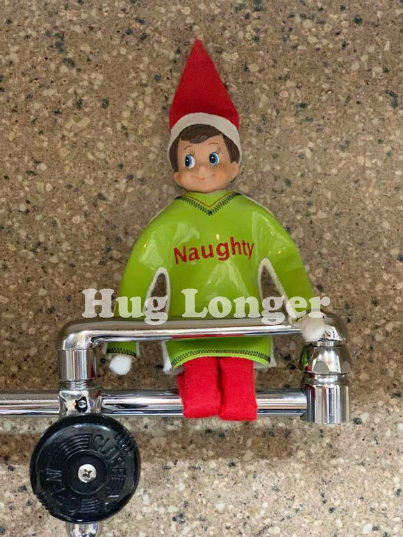 ITH Elf Sized Naughty Sweater HL5560 embroidery file