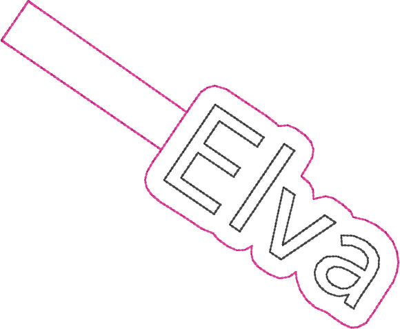ITH Elva Fob HL2274 embroidery file