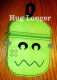 ITH Ghost and Frankenstein Bags HL5695 embroidery files