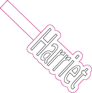 ITH Harriet Fob HL2518 embroidery file