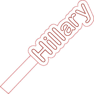 ITH Hillary Fob HL2228 embroidery file