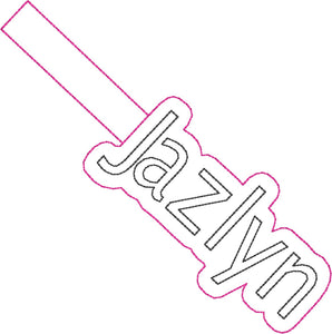 ITH Jazlyn Fob HL2408 embroidery files