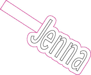 ITH Jenna Fob HL2305 embroidery file