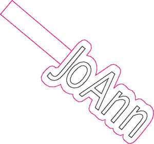 ITH Jo Ann Fob HL2417 embroidery file