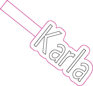 ITH Karla Fob HL2278 embroidery files