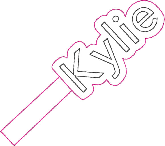 ITH Kylie Fob HL2271 embroidery files