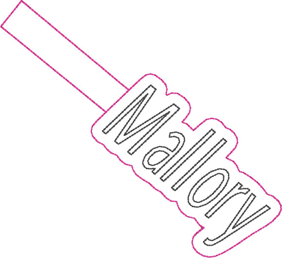 ITH Mallory Fob HL2356 embroidery file