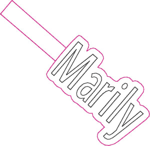 ITH Marily Fob HL2310 embroidery file