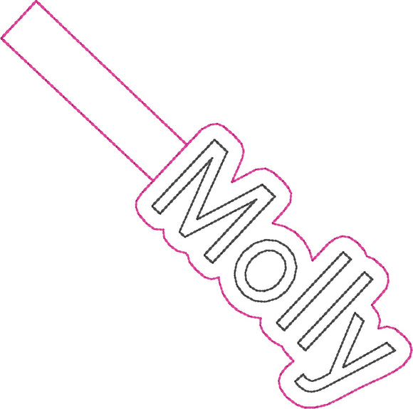 ITH Molly Fob HL2270 embroidery file