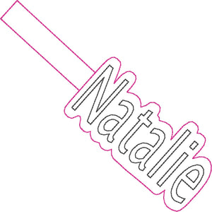 ITH Natalie Fob HL2419 embroidery file