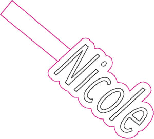 ITH Nicole Fob HL2315 embroidery file