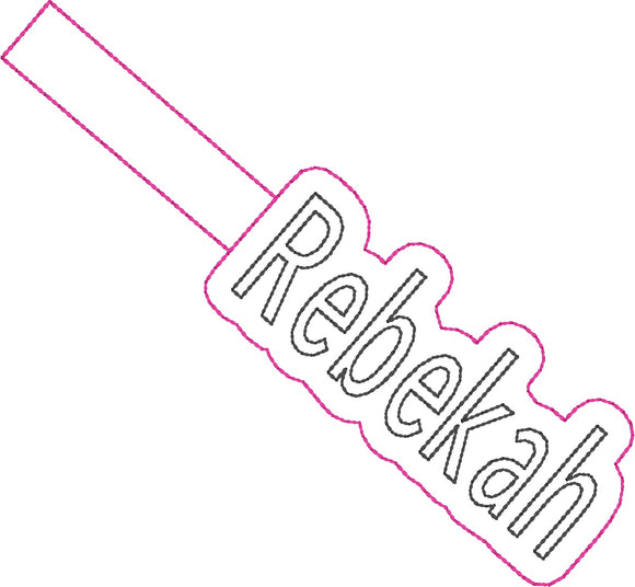 ITH Rebekah Fob HL2254 embroidery file