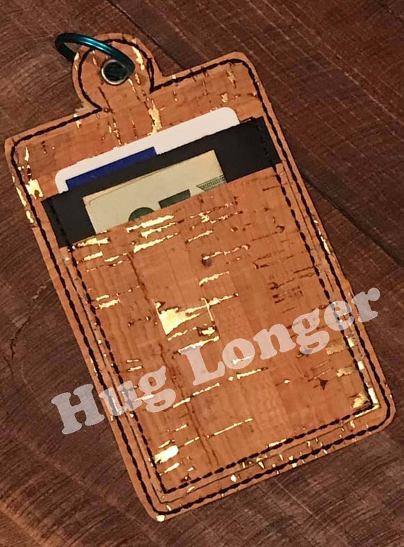 ITH Single Sided Card Fob HL2555 embroidery file