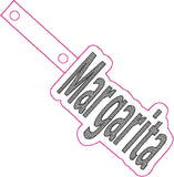 ITH Margarita Sketchy Fob HL5566 embroidery file