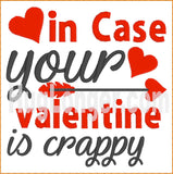 In Case Your Valentine TP HL2464 embroidery file