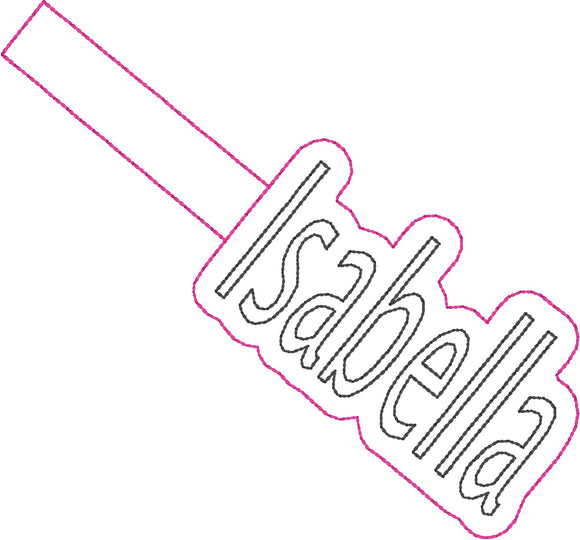 ITH Isabella Fob HL2328 embroidery files