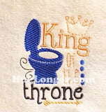 King of the Throne TP HL2196 embroidery file