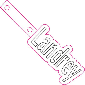 ITH Landrey Fob HL2549 embroidery file